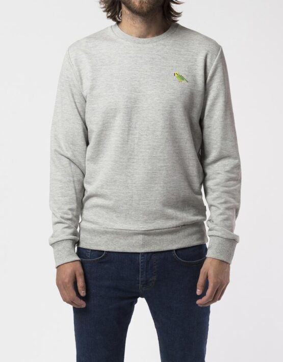 RVLT - 2539 Und Sweat Print Grey | Gate 36 Hobro