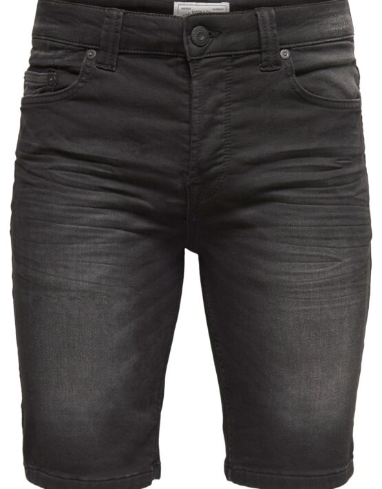 Only & Sons - Bull Shorts BLack Denim Jog | Gate 36 Hobro
