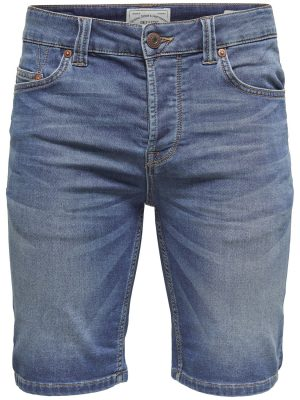 Only & Sons - Bull Shorts Blue Denim Jog | Gate 36 Hobro