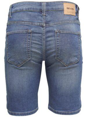 Only & Sons - Bull Shorts Blue Denim Jog | Gate 36 Hobro