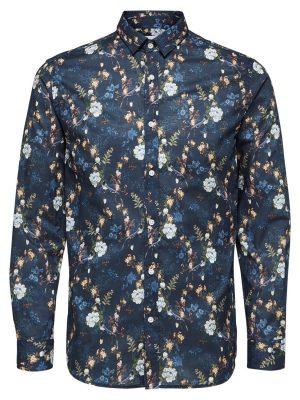 Selected Skjorte - Shxonekonradsson Shirt Navy | GAte 36 Hobro