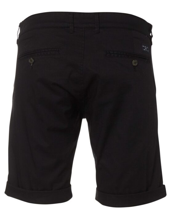 SELECTED - Ryan Straight Shorts Black | Gate 36 Hobro