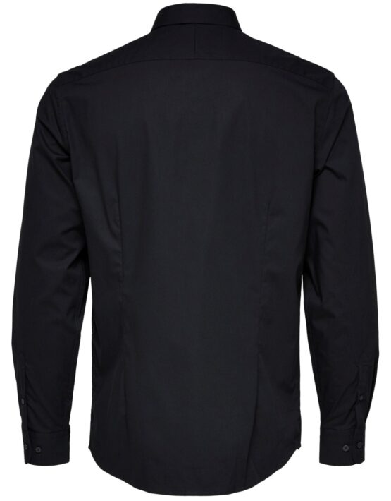 Selected Skjorte - Preston Black L/S Selected Skjorte - Preston Black L/S | Gate 36 Hobro
