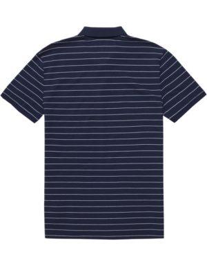 TJM - Fine Stripe Polo Navy | Gate 36 9500 Hobro