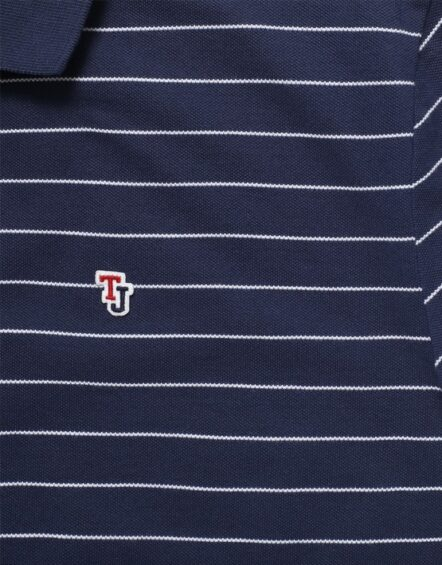 TJM - Fine Stripe Polo Navy | Gate 36 9500 Hobro