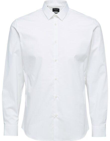 Selected Skjorte – Preston White L/S