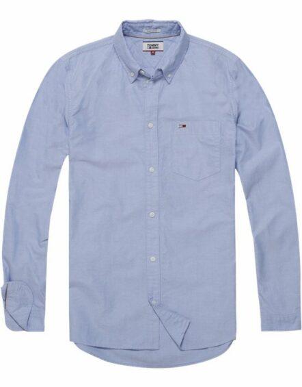 Hilfiger – Clasic Skjorte Light Blue