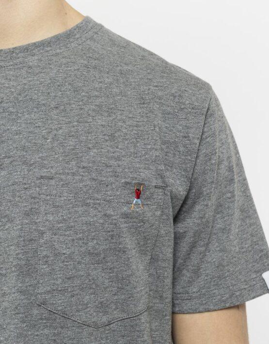 RVLT T-Shirt - 1954 Sverre Printed Tee Grey Hang Man   Gate 36 9500 HobroRVLT T-Shirt - 1954 Sverre Printed Tee Grey Hang Man   Gate 36 9500 Hobro