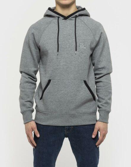 RVLT – 2561 Helge Hoodie Sweatshirt Grey