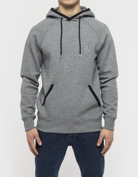 RVLT - 2561 Helge Hoodie Sweatshirt Grey | Gate 36 9500 Hobro