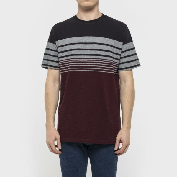RVLT T-Shirt - 1959 Asse Tee Grey/Black/Red
