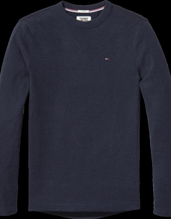 TJM; - Mini Waffle Long Knit Navy | Gate 36 9500 Hobro