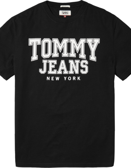 TJM – Essential College Tee Black