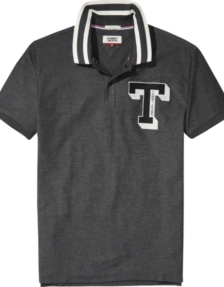 HILFIGER – TJM College Polo Grey