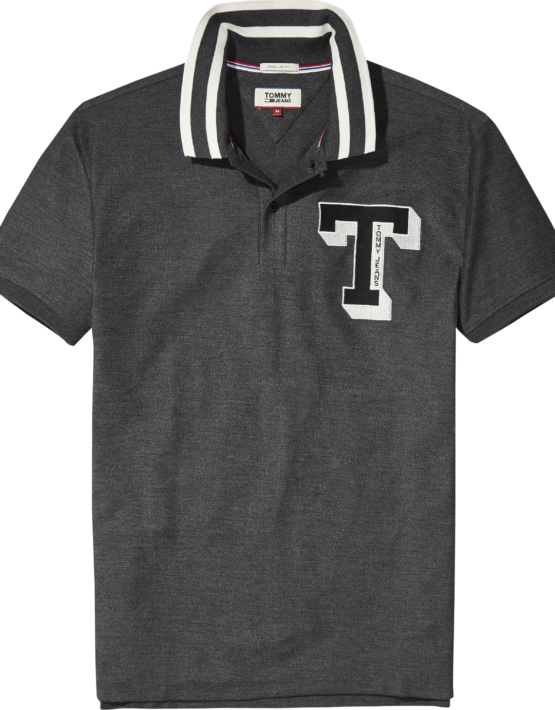 HILFIGER - TJM College Polo Grey | Gate 36 9500 Hobro