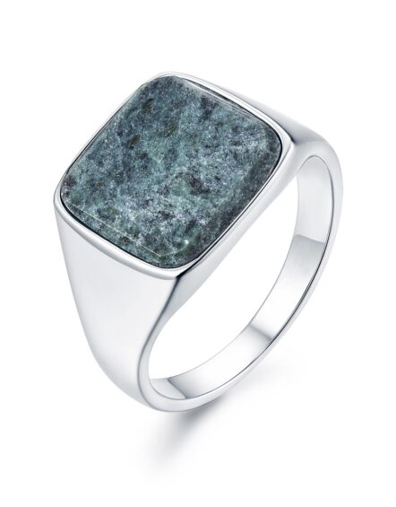 Verde Signature Silver Ring | Gate 36 Hobro