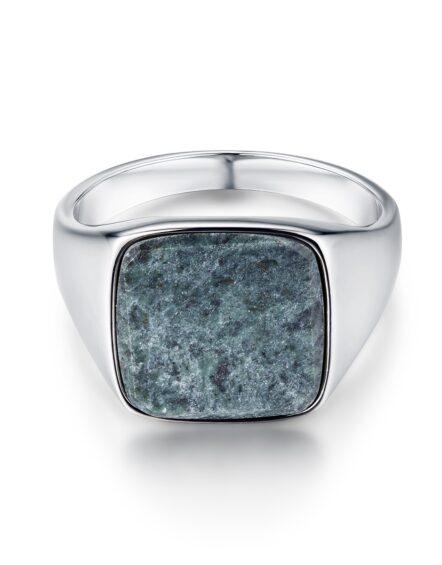 Verde Signature Silver Ring