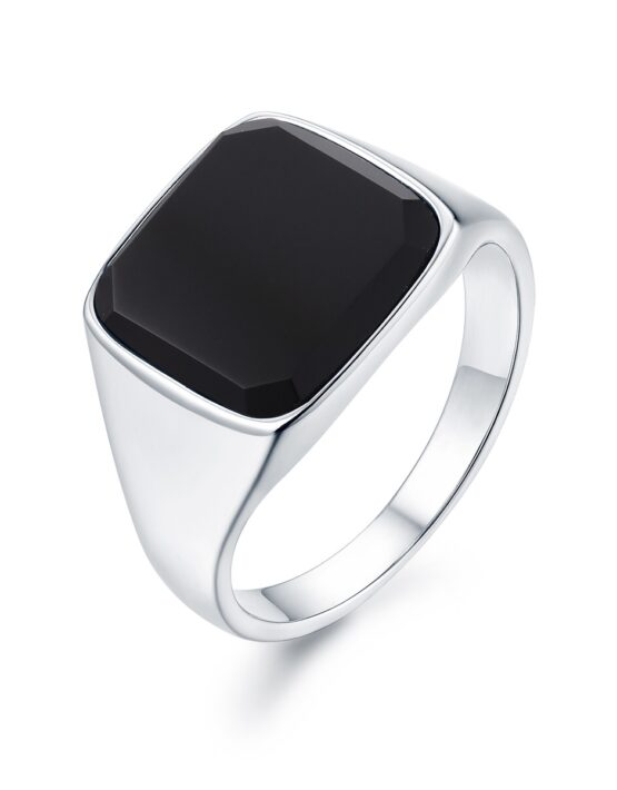 Onyx Signature Sliver Ring | Gate 36 Hobro 9500