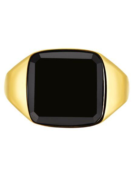 Onyx Signature Guld Ring | Gate 36 Hobro 9500