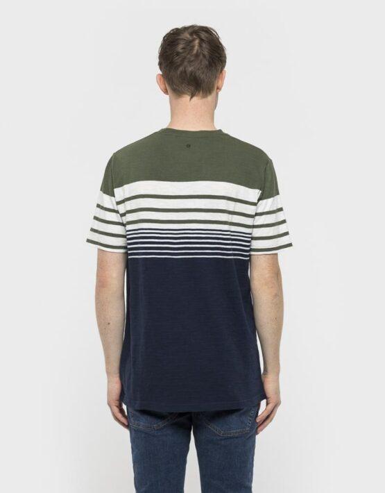 RVLT T-Shirt - 1959 Asse Tee Army/White/Navy   Gate 36 9500 Hobro