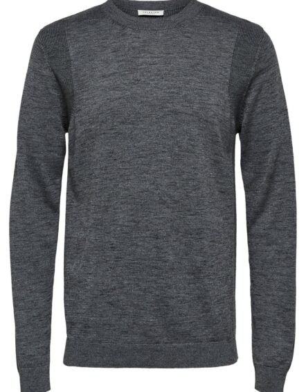 Selected – Niko Crew Grey