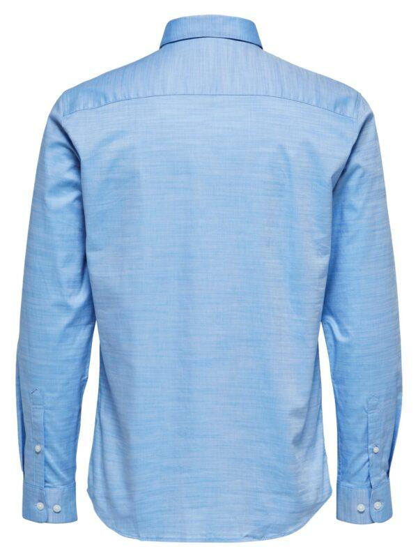Selected Skjorte - Slim Kris Light Blue   Gate 36 Hobro 9500
