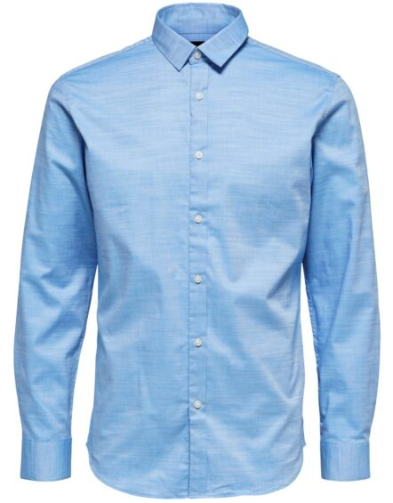 Selected Skjorte – Slim Kris Light Blue