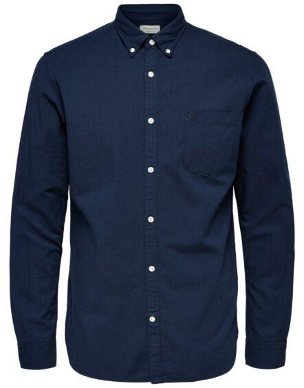 Selected Skjorte – Collect Moonlit Ocean
