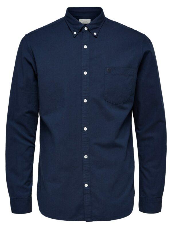 Selected Skjorte - Collect Moonlit Ocean | Gate 36 Hobro 9500