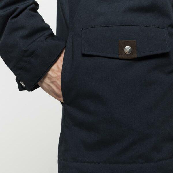 RVLT - Jacket Leif Parka Navy   Gate 36 Hobro 9500