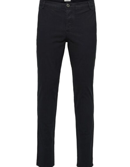 Selected – Skinny Luca Pants Black