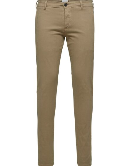 Selected – Skinny Luca Pants Greige