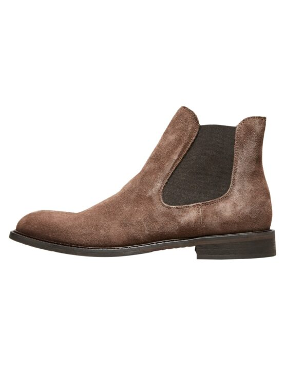 Selected Boot - BAXTER LEATHER BOOTS BROWN | Gate 36 Hobro