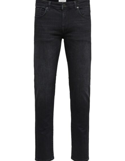 Selected – Slim Leon 6138 Wash Black