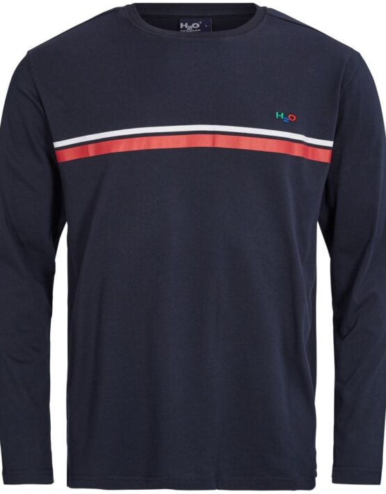 H2O Maine L/S Navy/White/Red | Gate 36 Hobro