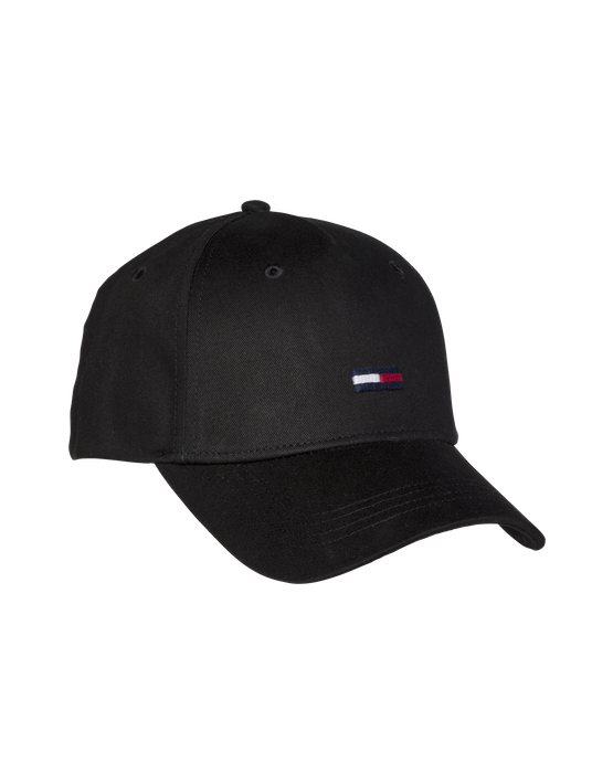 HILFIGER - Flag Cap Black | GATE36 Hobro