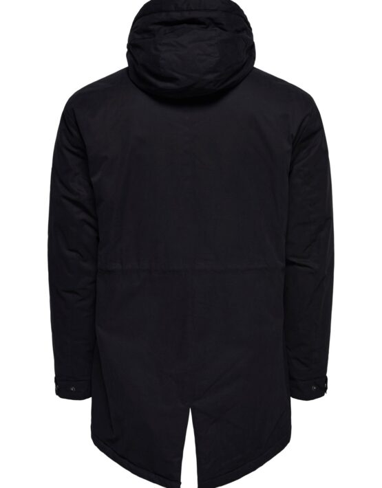 Only & Sons Jakke - Klaus Parka Black | Gate 36 Hobro 9500