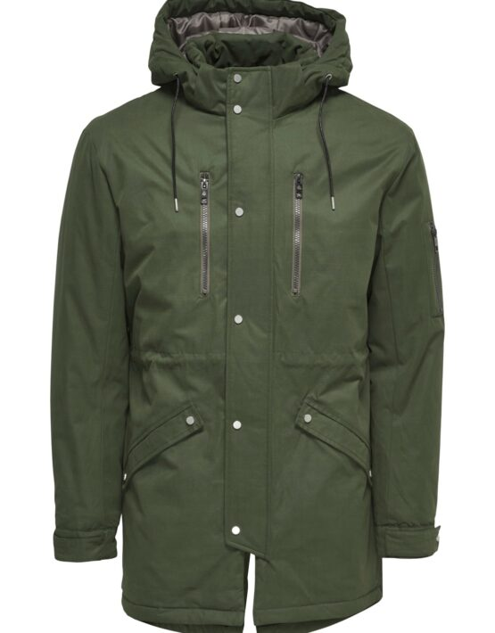 Only & Sons Jakke - Klaus Parka Army | Gate 36 Hobro 9500