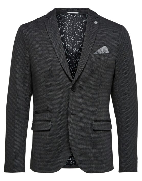 Selected Blazer - Carl Blazer Dark Grey | Gate 36 Hobro