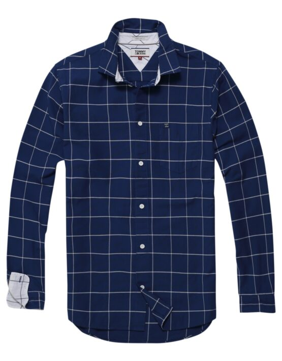 TJM - Window Pane Navy | Gate 36 Hobro