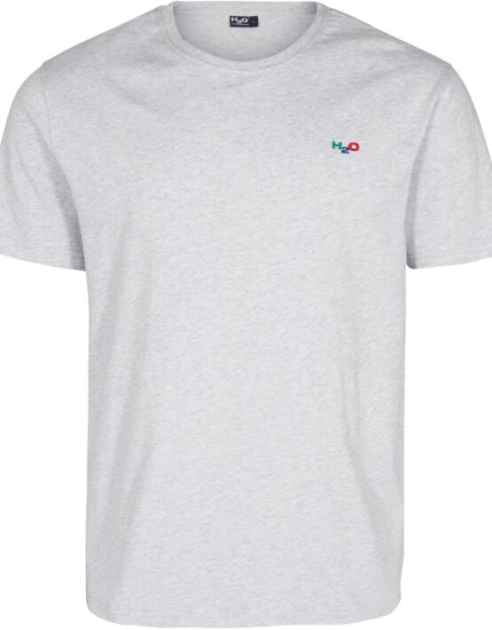H2O Lind T-Shirt Grey   Gate 36 Hobro