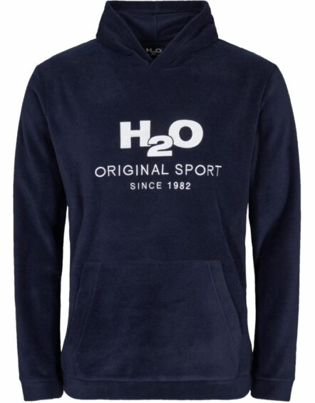 H2O Blåvand Fleece Hoodie Navy
