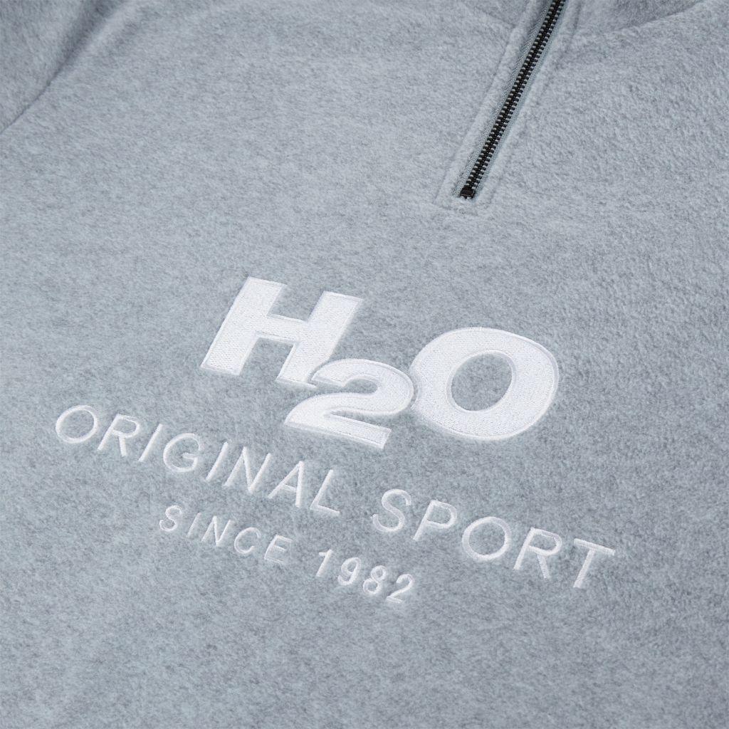 100602 - Blåvand Fleece trøje H2O | GATE36 Hobro
