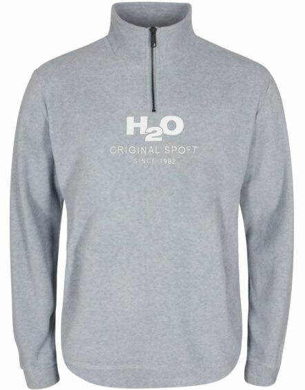 H2O Blåvand Fleece Half Zip Lt Grey
