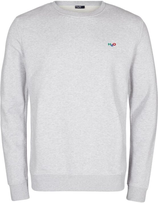 H2O sweat – Lind Sweat O-neck Grey