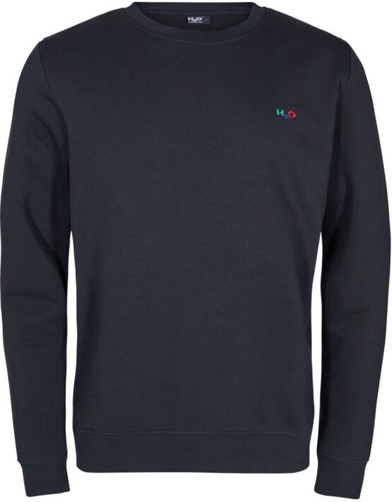 H2O sweat - Lind Sweat O-neck Navy | Gate 36 Hobro