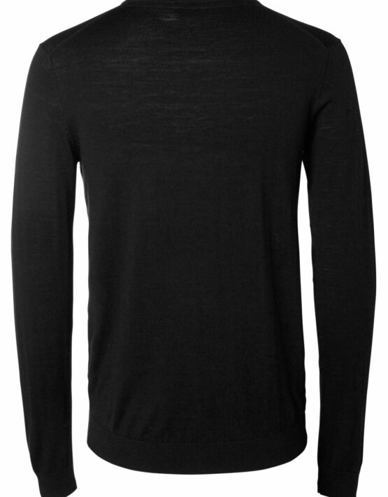 Selected - SLHTOWER Merino - Black - GATE36 Hobro