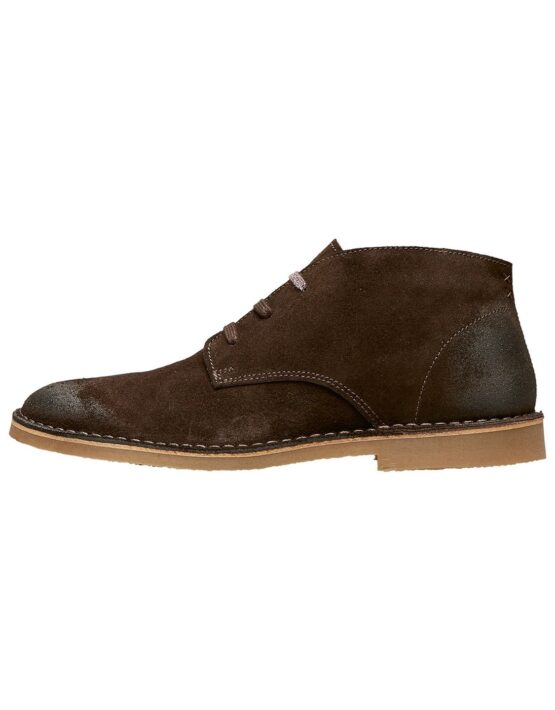 Selected Royce Desert Suede Brun | GATE36 Hobro