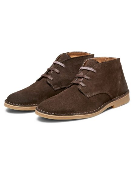 Selected Royce Desert Suede Brun