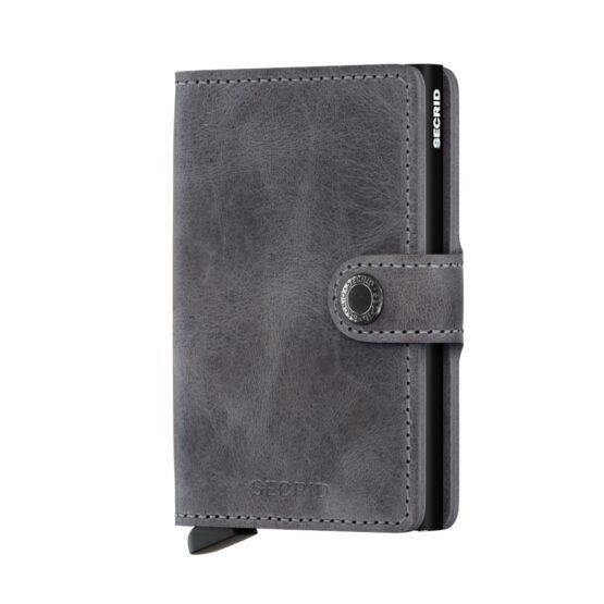 Secrid Miniwallet - Vintage Grey/Black | Gate 36 Hobro